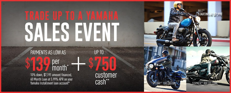 Yamaha motorcycle current offers factory financing for Yamaha credit card capital one