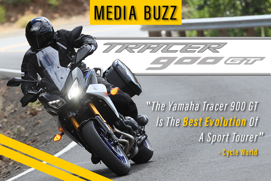 2019 Tracer 900GT Media Buzz Press Reviews