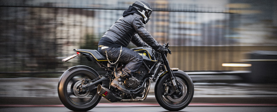 Yamaha Yard Built - XSR700 'Double-style' by Rough Crafts