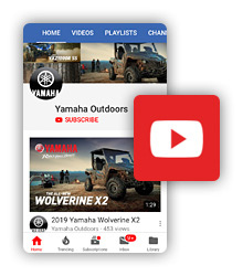 YouTube Yamaha Outdoors