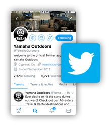 Twitter Yamaha Outdoors