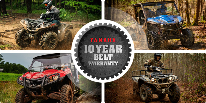 Yamaha 10 Year Belt Warranty